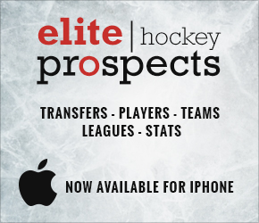 Elite Prospects launched for iPhone