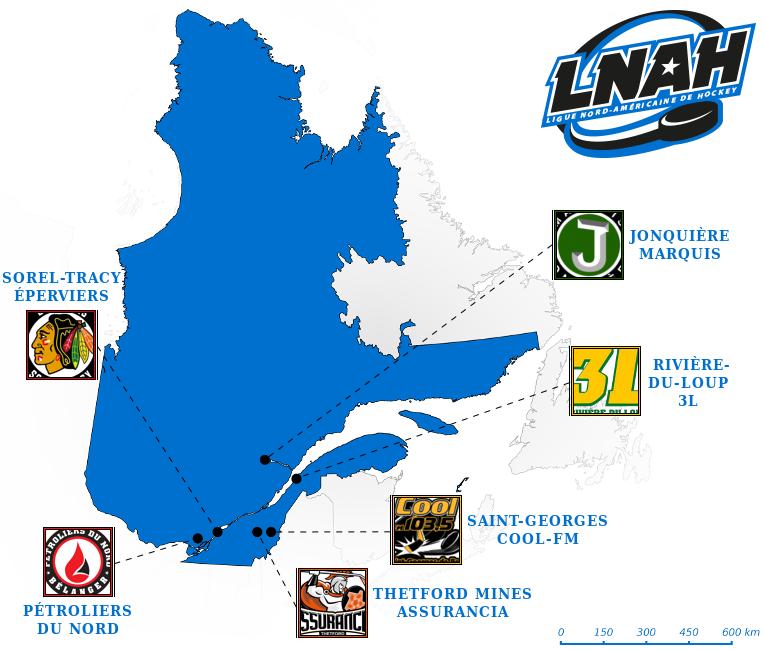 Elite Prospects - Ligue Nord-Américaine de Hockey (LNAH)