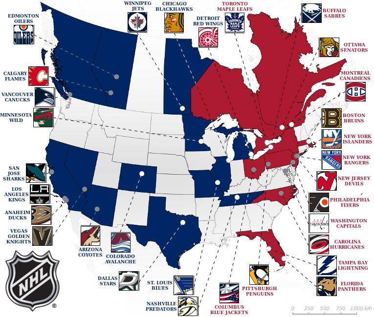 Best Nhl Teams 2019 Elite Prospects   National Hockey League (NHL)