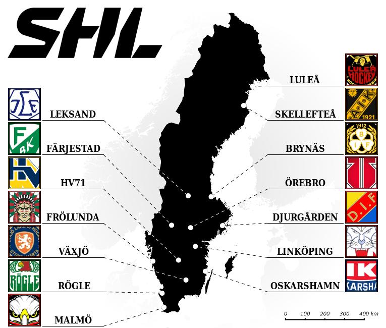 Elite Prospects Swedish Hockey League Shl