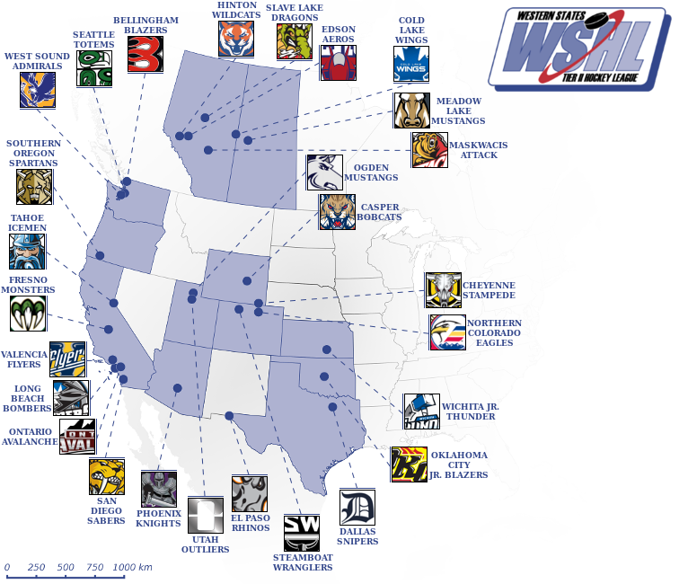 Elite Prospects - Western States Hockey League (WSHL)